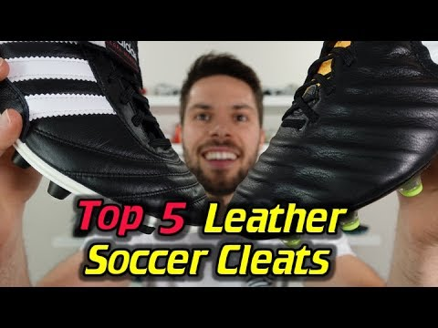 Top 5 Best Leather Soccer Cleats/Football Boots 2017