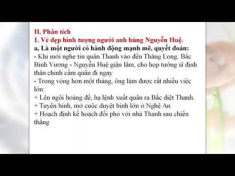 Chuyên đề Ngữ Văn Lớp 9: Hoàng Lê Nhất thống chí, trường THCS Phan Thiết, TP. Tuyên Quang
