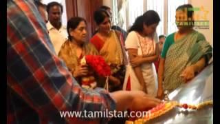 Veteran Actor SS Rajendran Passed Away Clip 1