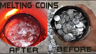 Melting Money (1000 coins)    Cash into trash