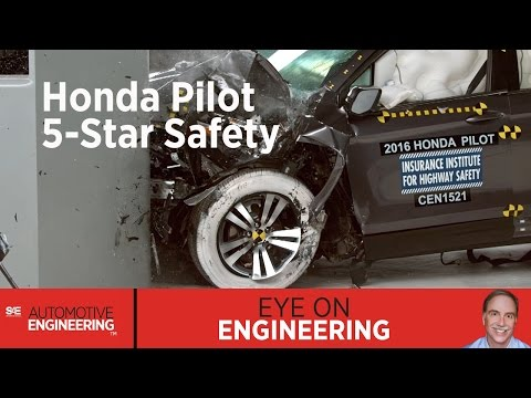 SAE Eye on Engineering: Honda Pilot 5-Star Safety