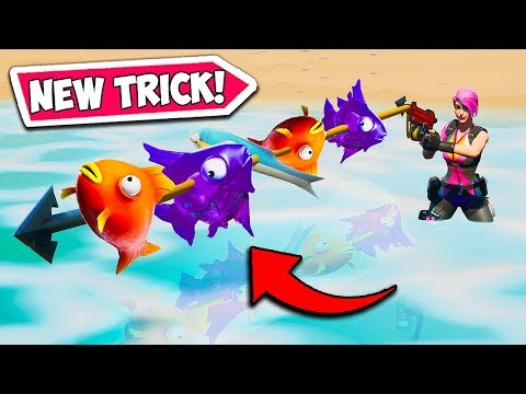 *NEW TRICK* CATCH 2+ FISH AT ONCE!! - Fortnite Funny Fails and WTF Moments! #738