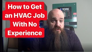 How to Get an HVAC Job With No Experience
