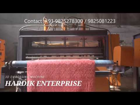 3D Embossing  and Punching Machine