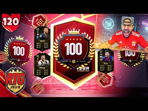 OMG BIGGEST TOP 100 PACK EVER! FIFA 19 Ultimate Team RTG #120