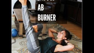 Barre Ab Workout by Fitnessista
