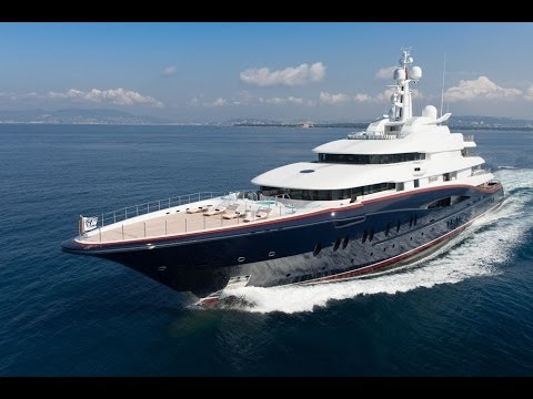 expensive $320 million Nirvana Yacht