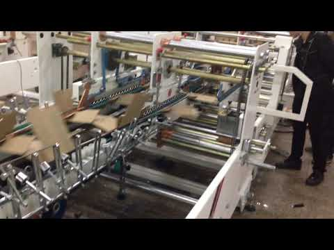 Automatic Bottom Lock Folder Gluer Machine