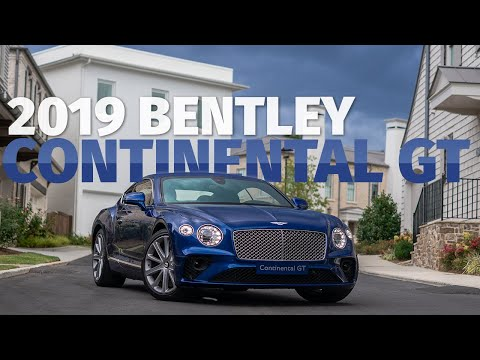 Luxury Supercar Or Another GT? First 2019 Bentley Continental GT Drive & Review