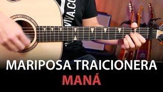 Mariposa Traicionera Acordes para guitarra cover