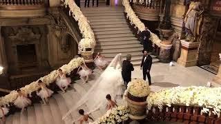 Tonights Fairytale Wedding At Opera Garnier, Paris !