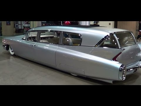 "1960 Cadillac Hearse  ""Thunder Taker"""
