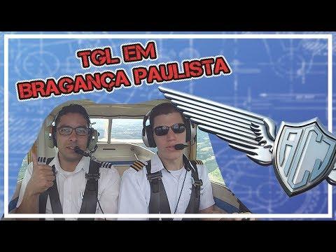 TGL em Bragança Paulista, com AFIS | Aeroclube de Jundiaí