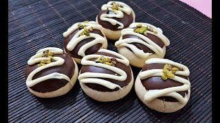 Çikolatalı Nişastalı Kurabiye Tarifi-Garantili Ağızda Dağılan Pastane Kurabiyesi