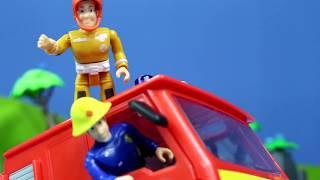 Feuerwehrmann deutsch neue Folgen für Kinder: Beste Feuerwehrauto Rettungsaktion Kinderfilme