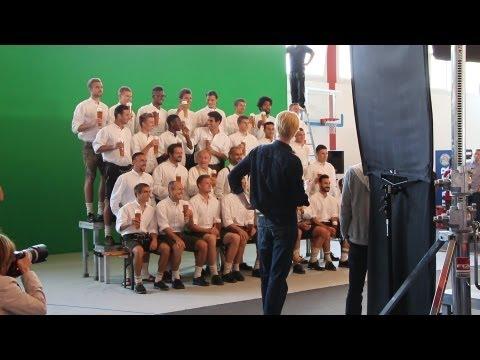Ribéry erscheint in Badelatschen: Lederhosen-Shooting des FC Bayern