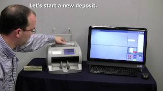 JetScan IFX I100 With Bank Check Scanning, Cash Counting, And Ticket Imaging Capabilities