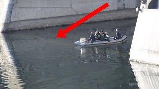 Un muchacho joven notó algo extraño en este río. Nadie esperaba que fuera ESTO ... WOW!