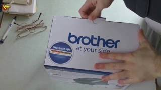Brother QL 720NW Etikettendrucker Unboxing & Installation