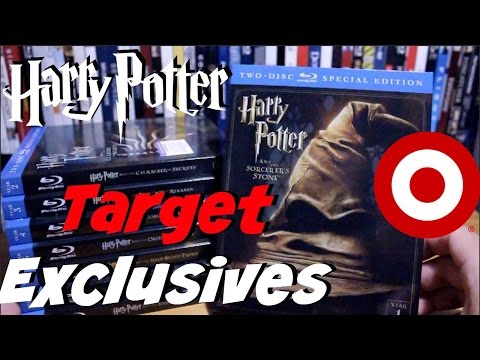 Complete Harry Potter Blu-Ray Collection (Target Exclusive)
