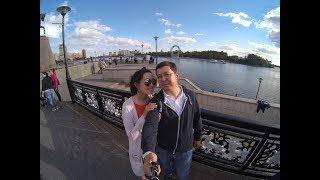 Walking around Astana in summer - Yi4K