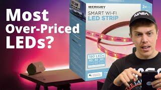 SMART LED Light Strip | Merkury SMART LED Strip Kit | Unboxing & Review