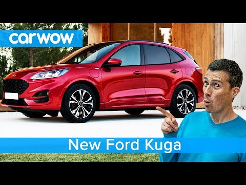 New Ford Kuga SUV 2020 - see why it should be better than a VW Tiguan and Peugeot 3008.