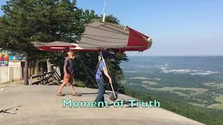 Hang Gliding: First Mountain Launch