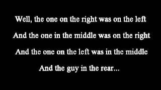 Johnny Cash - The One On The Right Is On The Left lyrics