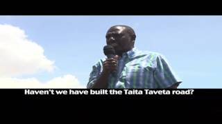 Un-Aired Exclusive: Deputy William Ruto addressing Voi residents on road construction