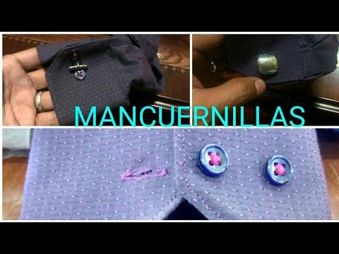 Mancuernillas  accesorios para camisas de Vestir