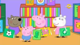 Purcelusa Peppa Biblioteca Peppa Pig in ROMANA