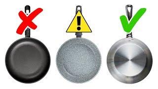 4 Zu Vermeidende Arten Von Giftigem Kochgeschirr Und 4 Sichere Alternativen