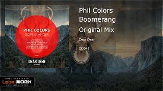 Phil Colors - Boomerang (Original Mix)