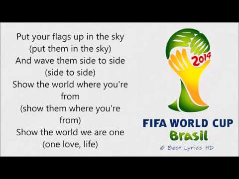 Pitbull - We Are One (Ole Ola) LYRICS [The Official 2014 FIFA World Cup Song]