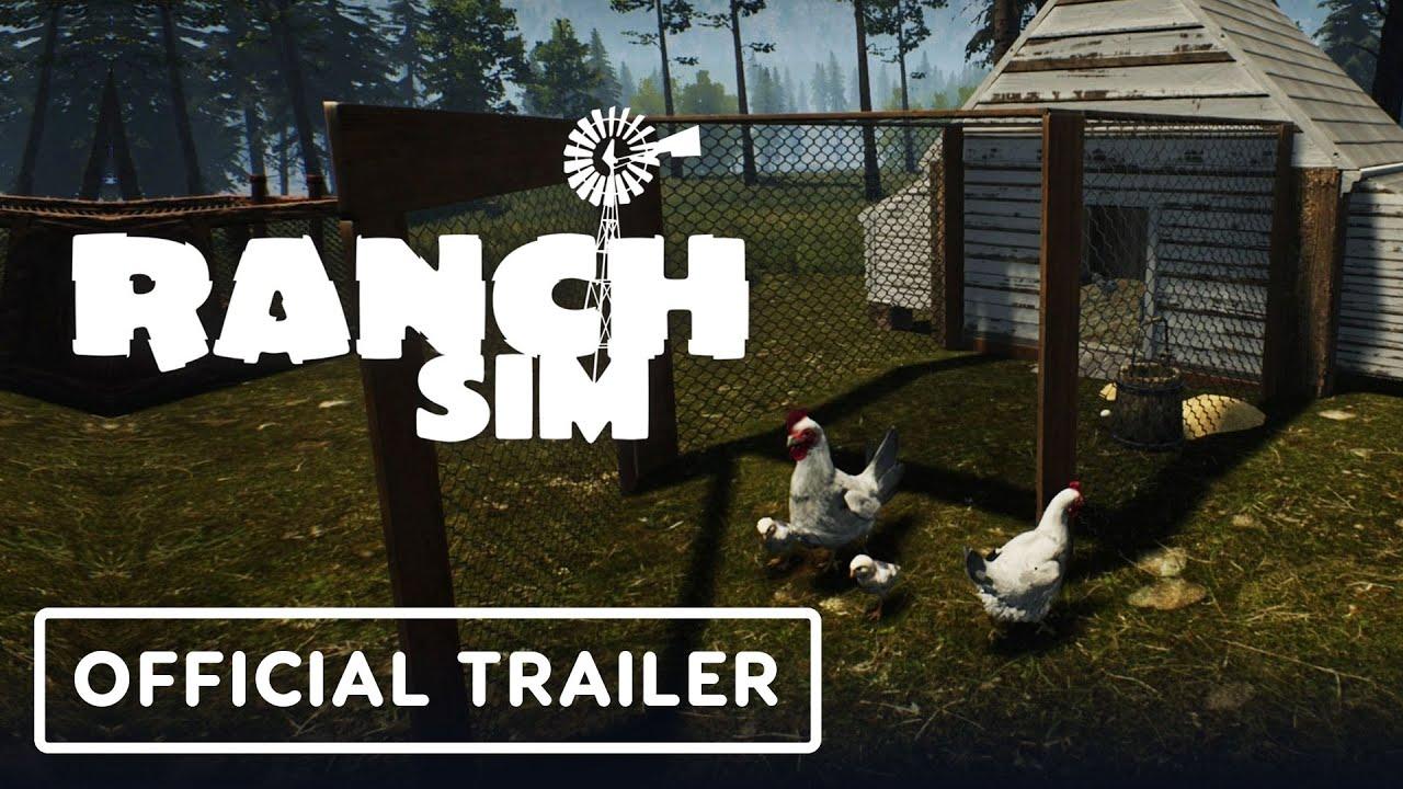 Анонсирующий трейлер игры Ranch Simulator