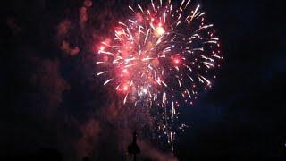 preview picture of video '2014-07-10 Hochzeit im Schloss Waidhofen a.d. Ybbs | risingfire® Feuerwerk'