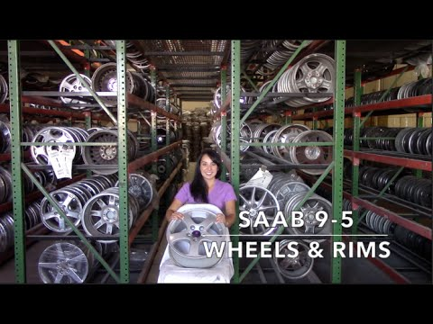Factory Original Saab 9-5 Rims & OEM Saab 9-5 Wheels – OriginalWheel.com