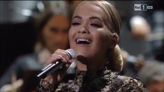 Andrea Bocelli & Rita Ora - What Child is This (Live HD)