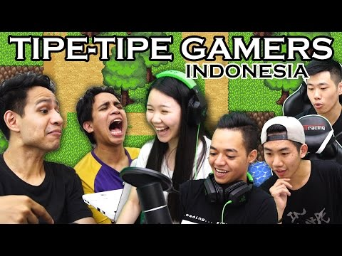 Video TIPE TIPE GAMERS INDONESIA #1