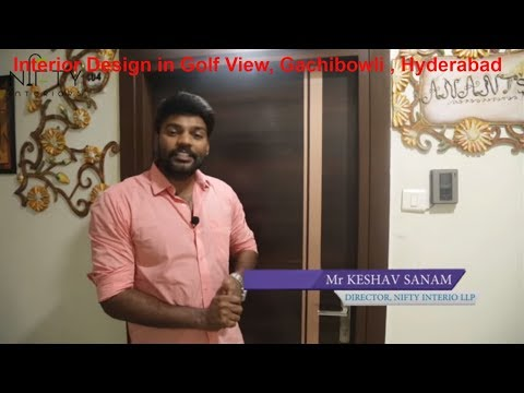 Interior Design in Golf View Gachibowli Hyderabad
