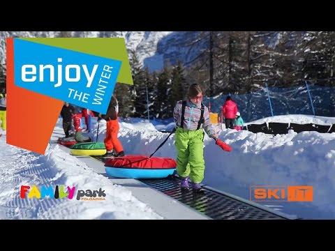 Family Park Folgarida giocare sulla neve in Val di Sole in Trentino