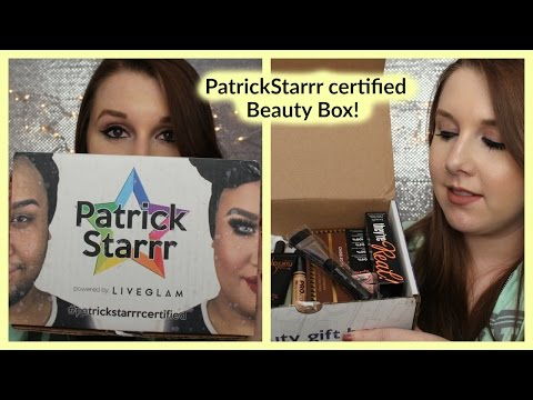 Patrickstarrr Certified Beauty Box! - YouTube