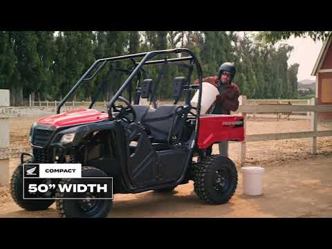 2021 Honda Pioneer 520 in Lewiston, Maine - Video 1