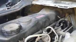Mitsubishi Canter 3.9 Diesel Engine Startup