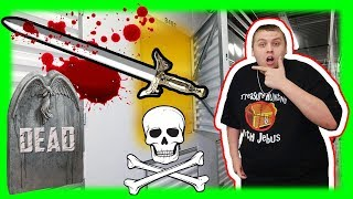 Dead Body Found In Storage Unit Auction! I Bought an Abandoned Storage Unit