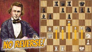 BARNES Power! || Morphy Vs Owen (1858)