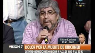 Visión Siete Falleció Néstor Kirchner 54