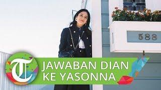 Jawaban Dian Sastro setelah Disentil Menteri Yasonna Laoly