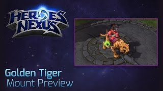 Golden Tiger Heroes of the Storm